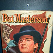 SALE 1960 Bat Masterson hardback book.  ZIV TV edition. No dust cover.