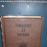SALE Tom Brown at Oxford hardback book. No dust cover. Thomas Hughes
