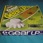 SALE Very RARE 1976 K-Tel GEAR UP the rotation game table game.