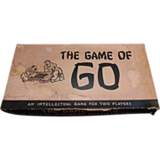 SALE 1951 edition of the Oriental board game of GO.  William F Drueke & Sons Grand Rapids Mich