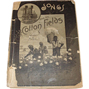 Group of four small song books. Songs from the Cotton Fields 1883, Johnnie Lee Wills Hymn Book