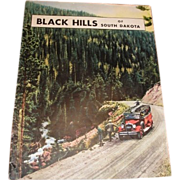 1932 BLACK HILLS South Dakota vacation brochure magazine. Chicago Northwestern Line railroad a