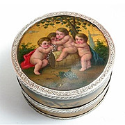 French Vernis Martin Lacquer Bonbonnière or Sweetmeats Box, c. 1775