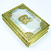 A Fine Charles X Palais Royal Mother of Pearl and Ormolu Box, c.1825