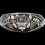 Rare Berlin Iron Giardinetti Ring, c. 1790 - 1815