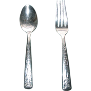 SOLD Batman Fork & Spoon