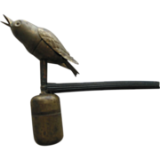 SOLD Victorian Canary Songster  Bird Whistle