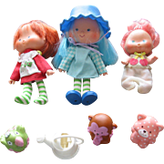 SOLD Strawberry Shortcake Dolls & Animal Toys