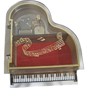 SOLD Small Wind-up Piano - Music Box