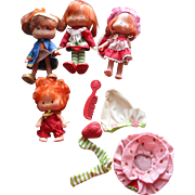 SOLD Strawberry Shortcake Dolls