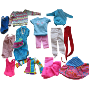 REDUCED Smaller Doll Clothes   - Mostly Barbie Size.