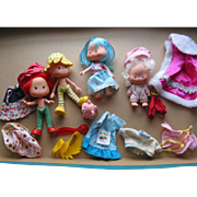 SALE 4 Strawberry Shortcake Figures & Accessories