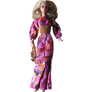 SALE Vintage Live Action Barbie Doll  - 1971