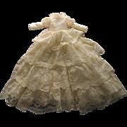 Long Satin Type Doll Dress