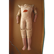 """REDUCED 16"""" Old Kid Doll Body"""