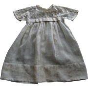 SALE Old White Doll Dress
