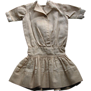 SALE Old Cotton Doll Dress