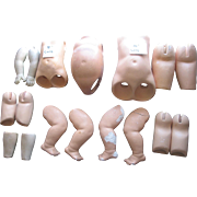 SALE Lot of Older Doll Body Parts