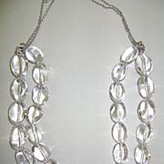 DESIGNER DEAN HARRIS Sterling and Natural Quartz Beautiful Necklace