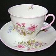VINTAGE  Shelley Fine Bone China Cup and Saucer Pattern Stocks 13428