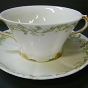 VINTAGE Theodore Haviland Limoges France Cream Soup Cup