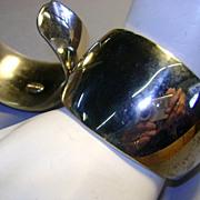 VINTAGE Two Shining Large Wonder Woman Bracelets Marked Park Lane