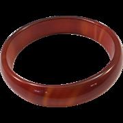 VINTAGE  Dyed Jadeite  Bangle Bracelet  Cool Cool Cool