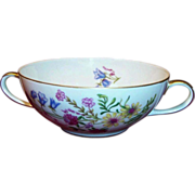 "SALE Bavarian Baronet China; ""Elena"" Cream Soup Bowl"