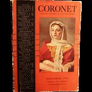 November 1938 Coronet Magazine