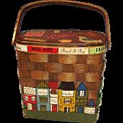 SOLD Vintage Caro-Nan Basket Purse