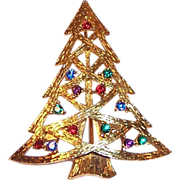 Eisenberg Ice Christmas Tree Pin