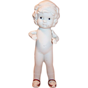 """SOLD Japan 6"""" Bisque Flapper Doll Movable Arms"""