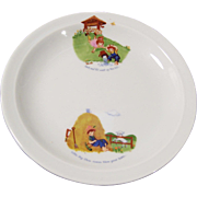 "Bavarian 8"" Child's Nursery Rhyme Plate"
