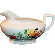 Homer Laughlin Poppy & Rose Kwaker Creamer