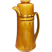 1960's Homer Laughlin Granada Harvest Gold Coffee Pot