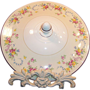 Homer Laughlin Dubarry Casserole Cover (LID ONLY)