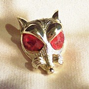 Signed Nemo - Red Eyed Sly Fox Pin