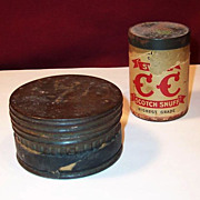 Snuff Tins & Fishing Hooks
