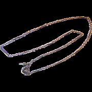 Trifari Short Segmented Chain Necklace