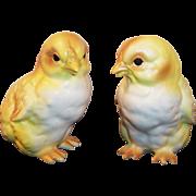 Excellent Pair Of Lefton Peeps Chicks