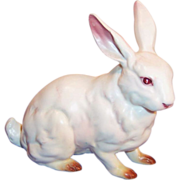 Vintage Lefton Japan H880 White Porcelain Easter Rabbit
