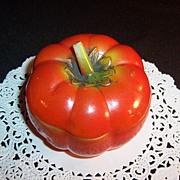 Pre-1950's Covered Glass Tomato