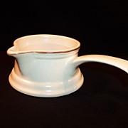 Pfaltzgraff Village Handled Gravy Server