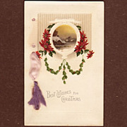 Christmas Wishes Scenic Postcard