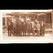 Antique Real Photo Postcard Denver Colorado