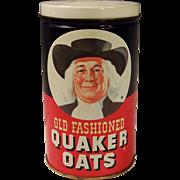 Vintage Quaker Oats Tin