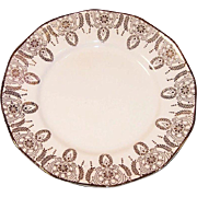 (2) Royal China 22K Gold Manhattan Dessert (Bread & Butter) Plates