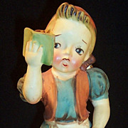 Thames Dutch or German Girl Figurine