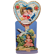 Vintage German Made Sweetheart Valentine