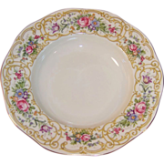 "Baronet China: ""Plaza"" Rimmed Soup Bowl 8 1/8"""
